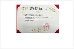 2015半导体知名品牌证书