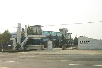 工业园门口